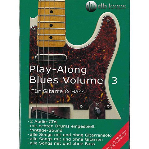 CD db Loops Play Along Blues Volume 3