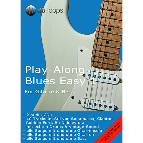 CD db Loops Play Along Blues Easy 1