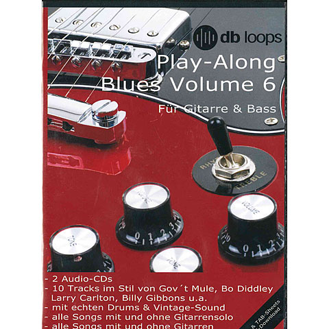 CD db Loops Play Along Blues Volume 6