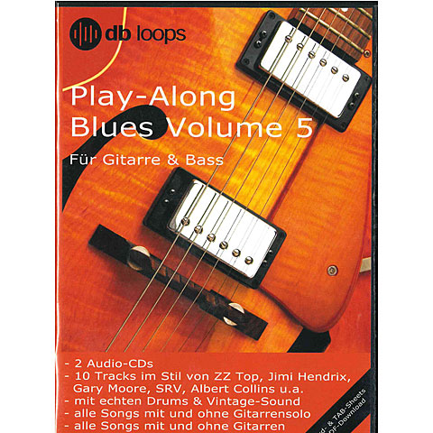 CD db Loops Play Along Blues Volume 5