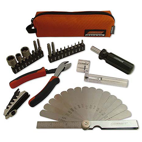 Herramientas para guitarra y bajo Cruz Tools Stagehand Compact Tech Kit