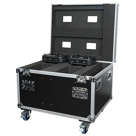 Case para iluminación Showtec Case for 4x Phantom 130 / 3R Hybrid / 3R Beam