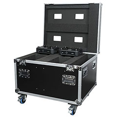 Showtec Case for 4x Phantom 130 / 3R Hybrid / 3R Beam « Case pour lumière