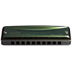 Suzuki C-20 Olive Bb « Richter-Mundharmonika