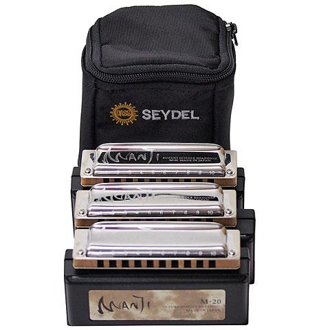 Richter-harmonica Suzuki Manji 3-er Set