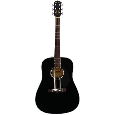 Guitarra acústica Fender CD-60S BLK