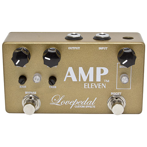 Pedal guitarra eléctrica Lovepedal Amp Eleven Gold