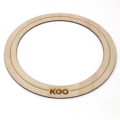 Accesor. parches KEO Percussion Bass Drum O-Ring Large