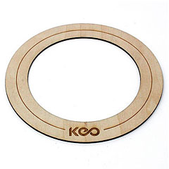 KEO Percussion Bass Wood O-Ring Medium « Accessoires peaux
