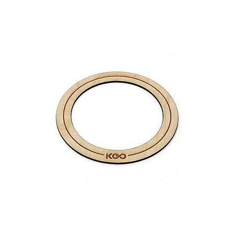 Accesor. parches KEO Percussion Bass Wood O-Ring Small