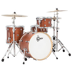 "Gretsch Drums Catalina Club 20"" Satin Walnut Glaze Drumset « Batterie acoustique"