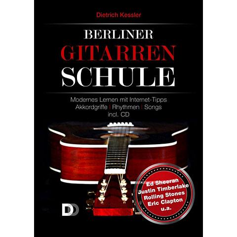 Libros didácticos DD Verlag Berliner Gitarrenschule (+CD)