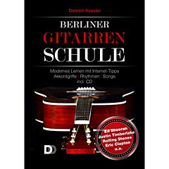 3D-Verlag Berliner Gitarrenschule (+CD) « Manuel pédagogique