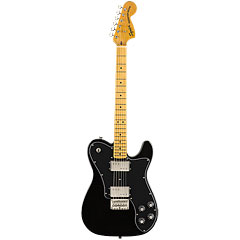 Squier Classic Vibe 70s Tele Deluxe BLK « Electric Guitar