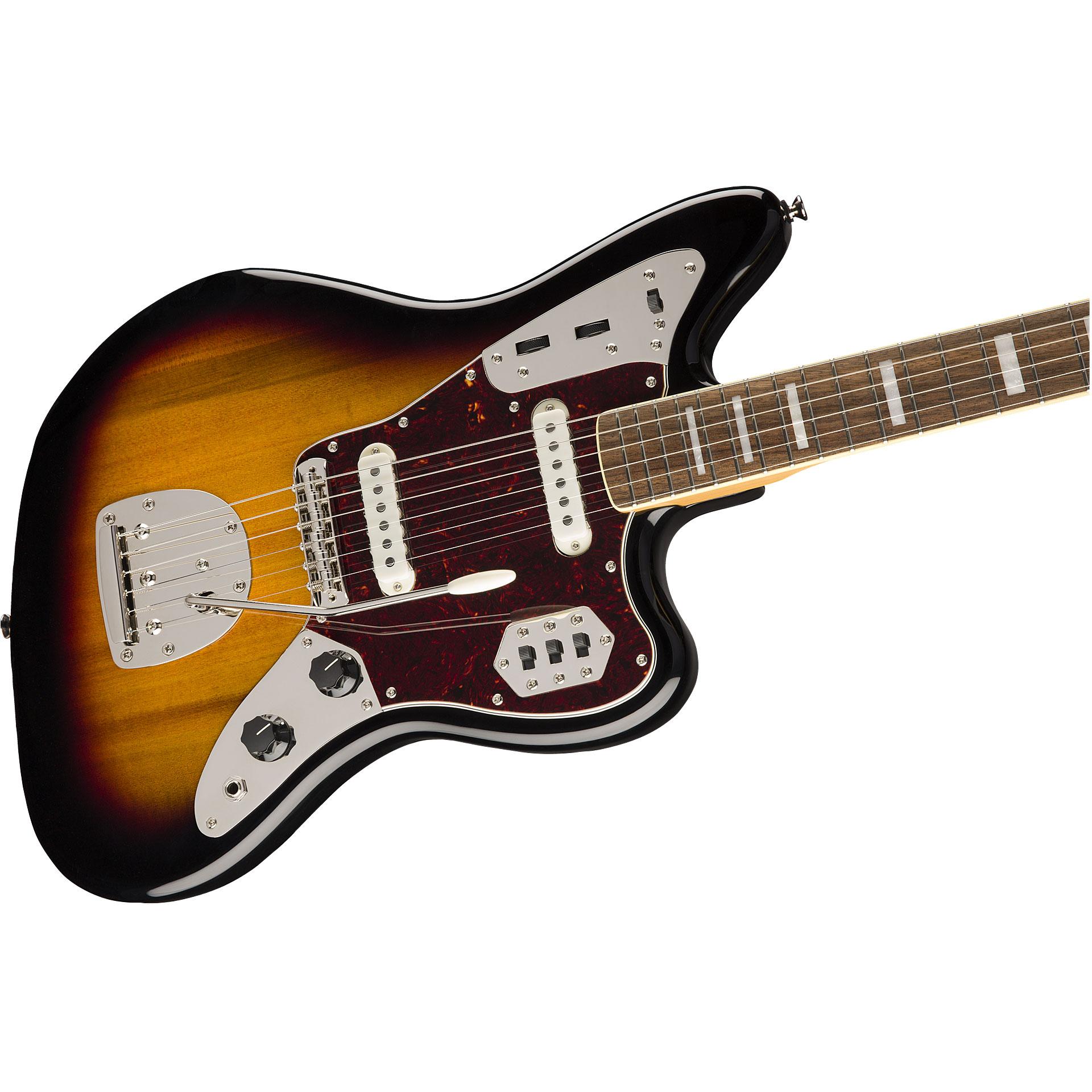 squier classic vibe 70s jaguar 3ts electric guitar. Black Bedroom Furniture Sets. Home Design Ideas