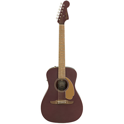 Fender Malibu Player Burgundy Satin