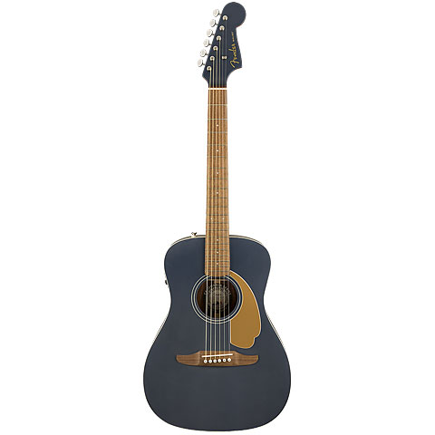 Westerngitarre Fender Malibu Player Midnight Satin