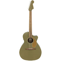 Fender Newporter Player Olive Satin « Guitare acoustique