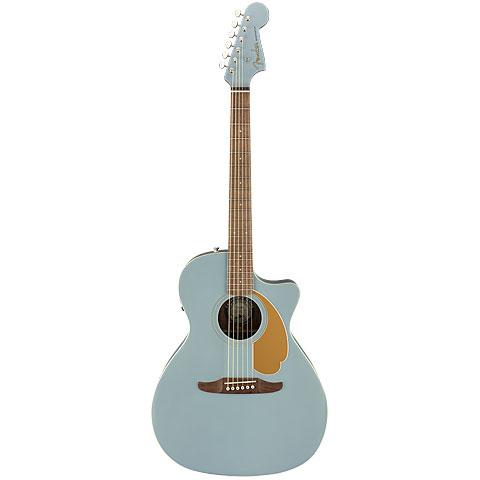 Westerngitarre Fender Newporter Player Ice Blue Satin WN
