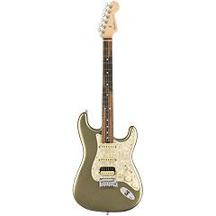 Fender American Elite Strat EB HSS Satin JPM « Guitare électrique