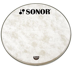 "Sonor Natural 20"" Standard Logo Front Head « Bass-Drum-Fell"