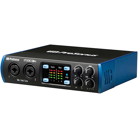 Carte son, Interface audio Presonus Studio 26c