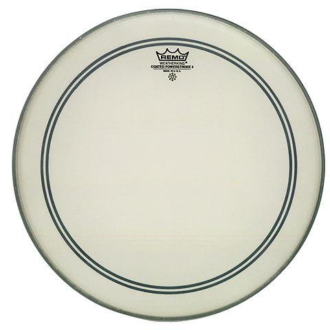 "Bass-Drum-Fell Remo Powerstroke 3 26"" Coated Bass Drum Head"