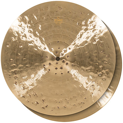 "Cymbale Hi-Hat Meinl Byzance Foundry Reserve 15"" HiHat"