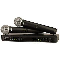 Shure BLX288E/PG58 M17 « Wireless Systems