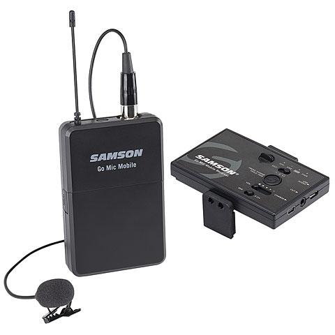 Micrófono inalámbrico Samson Go Mic Mobile Lavalier System