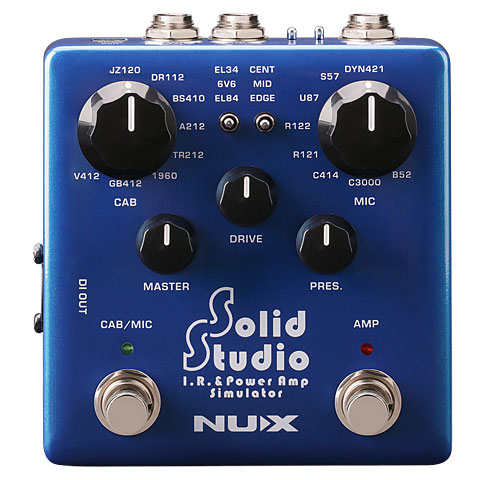 Recording Tool NUX NSS-5 Solid Studio IR