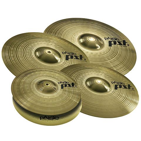 Pack de cymbales Paiste PST 3 Universal Set Plus 14HH/16C/18C/20R