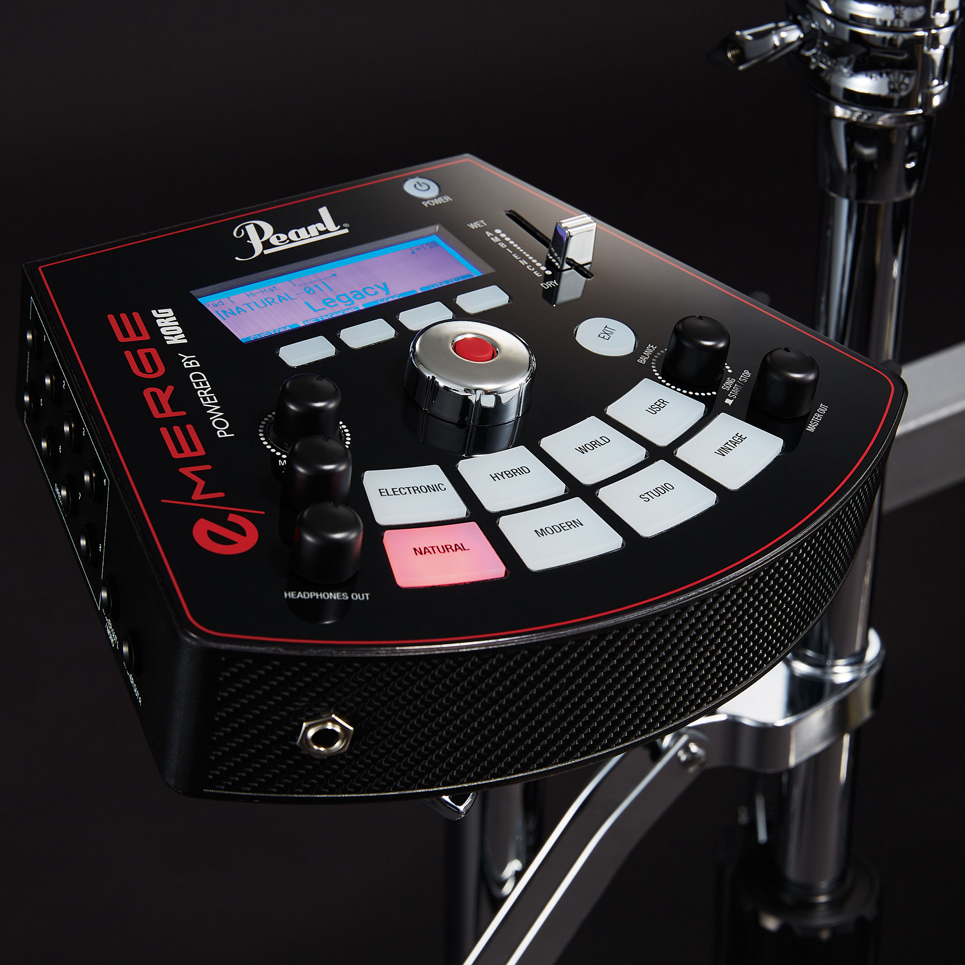 Pearl E Merge Traditional Electronic Drum Kit 171 Electronic