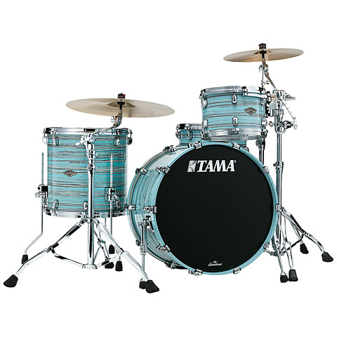 Batería Tama Starclassic Walnut/Birch 3pc Lacquer Arctic Blue Oyster