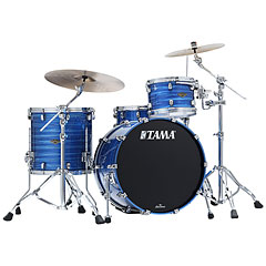 Tama Starclassic Walnut/Birch 3pc Lacquer Ocean Blue Ripple « Drum Kit