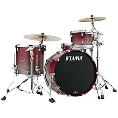 Tama Starclassic Walnut/Birch 3pc Satin Burgundy Fade « Drum Kit