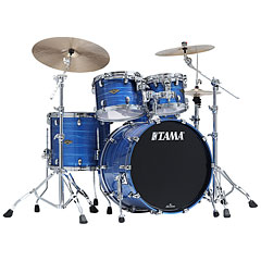 Tama Starclassic Walnut/Birch 4pc Lacquer Ocean Blue Ripple « Schlagzeug