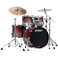 Tama Starclassic Walnut/Birch 4pc Satin Burgundy Fade « Drum Kit