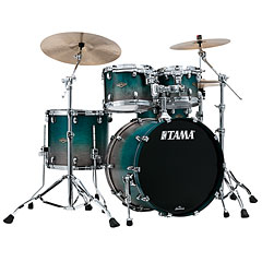 Tama Starclassic Walnut/Birch 4pc Satin Sapphire Fade « Drum Kit