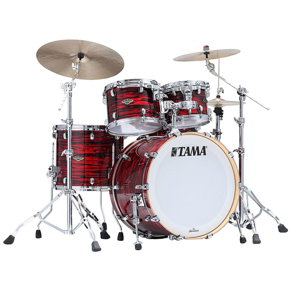 Akustikdrums - Tama Starclassic Walnut Birch 4pc Red Oyster Schlagzeug - Onlineshop Musik Produktiv
