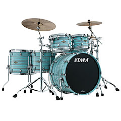 Tama Starclassic Walnut/Birch 5pc Lacquer Arctic Blue Oyster « Drum Kit