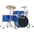 Tama Starclassic Walnut/Birch 5pc Lacquer Ocean Blue Ripple « Schlagzeug