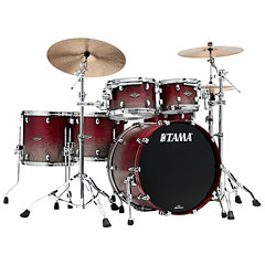 Tama Starclassic Walnut/Birch 5pc Satin Burgundy Fade « Schlagzeug