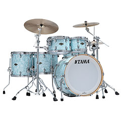 Tama Starclassic Walnut/Birch 5pc Ice Blue Pearl « Schlagzeug