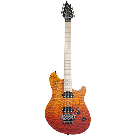 EVH Wolfgang Standard QM Tri Fade « E-Gitarre