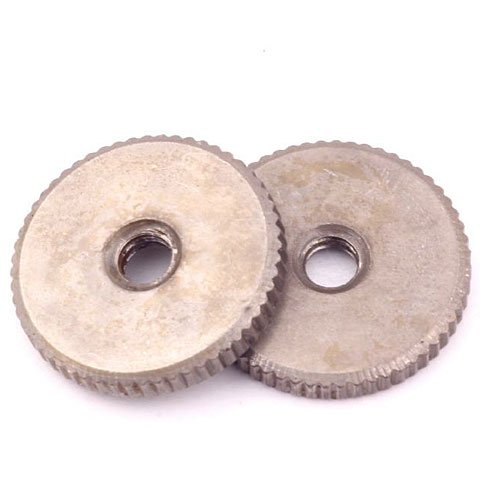 Chevalet Crazyparts Area 59 Thumbwheels, nickel-plated, aged