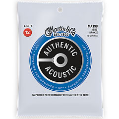 Martin Guitars MA-190 « Western & Resonator Guitar Strings