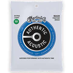 Martin Guitars MA-530 « Western & Resonator Guitar Strings