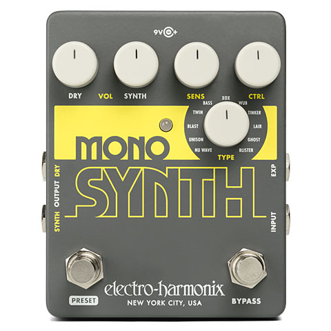 Pedal guitarra eléctrica Electro Harmonix Mono Synth