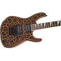 E-Gitarre Jackson Soloist X Series SLX Neon Orange Crackle